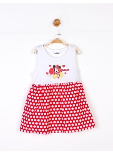 Minnie Mouse Disney Minnie Elbise 18103 Kırmızı